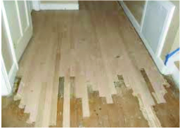 Patching Wooden Floor