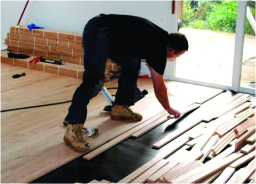 Hardware Floor Installation